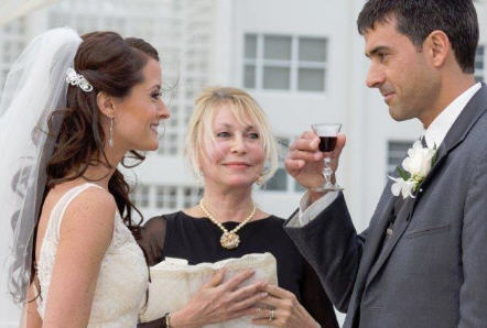 Wedding Vows with Wine Ceremony Wedding Tradition